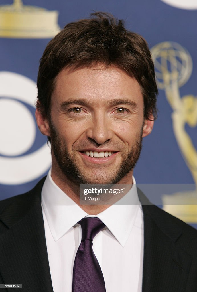 Hugh Jackman, winner Outstanding Individual Performance in a Variety or Music Program for 'The 58th Annual Tony Awards' at the Shrine Auditorium in Los Angeles, California