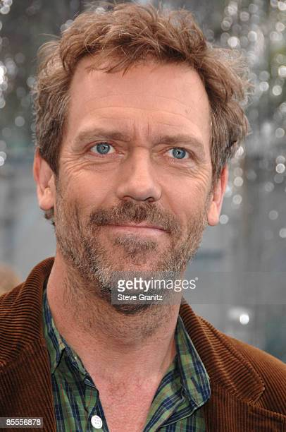 Hugh Laurie arrives at the Los Angeles premiere of 'Monsters vs Aliens' at the Gibson Amphitheatre on March 22 2009 in Universal City California
