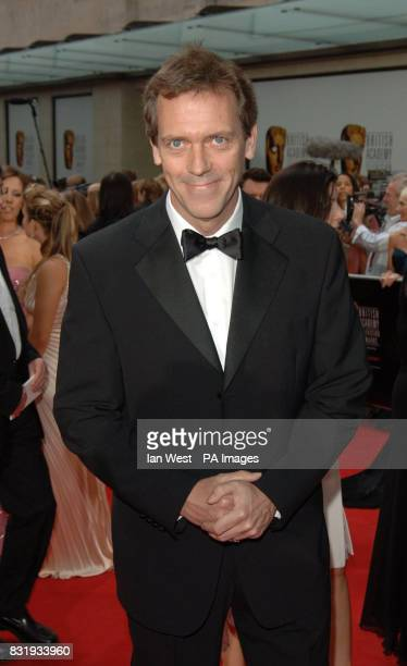 Hugh Laurie arrives for the TV Baftas at the Grosvenor House Hotel in central London