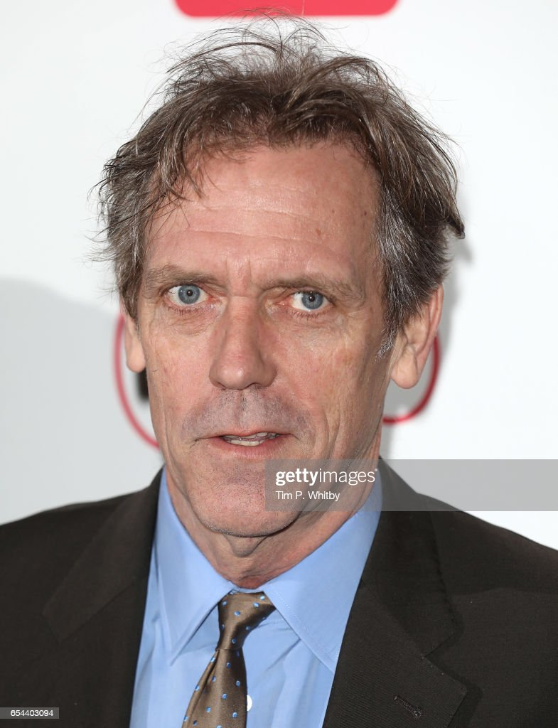 Hugh Laurie attends the Broadcasting Press Guild Television & Radio Awards at Theatre Royal on March 17, 2017 in London, England.