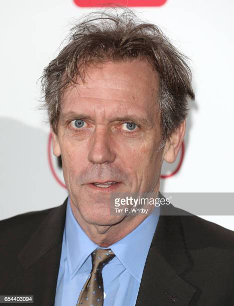 Hugh Laurie attends the Broadcasting Press Guild Television Radio Awards at Theatre Royal on March 17 2017 in London England