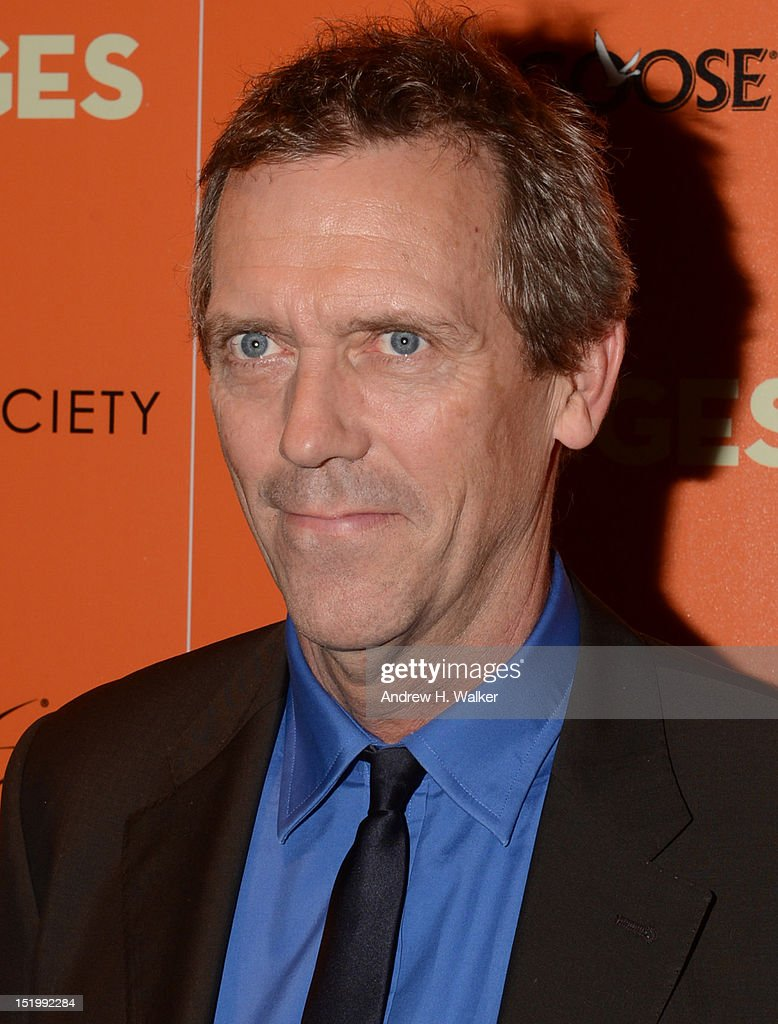 <a gi-track='captionPersonalityLinkClicked' href=/galleries/search?phrase=Hugh+Laurie&family=editorial&specificpeople=217383 ng-click='$event.stopPropagation()'>Hugh Laurie</a> attends The Cinema Society with The Hollywood Reporter & Samsung Galaxy S III host a screening of 'The Oranges' at Tribeca Screening Room on September 14, 2012 in New York City.