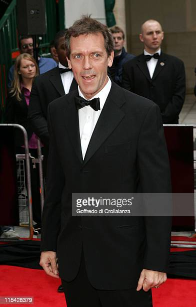 Hugh Laurie during The 2006 British Academy Television Awards Arrivals at Grosvenor House Hotel in London Great Britain