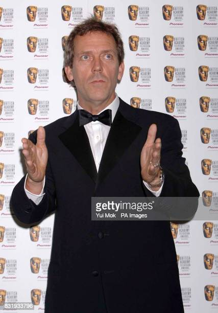 Hugh Laurie during the TV Baftas at the Grosvenor House Hotel in central London