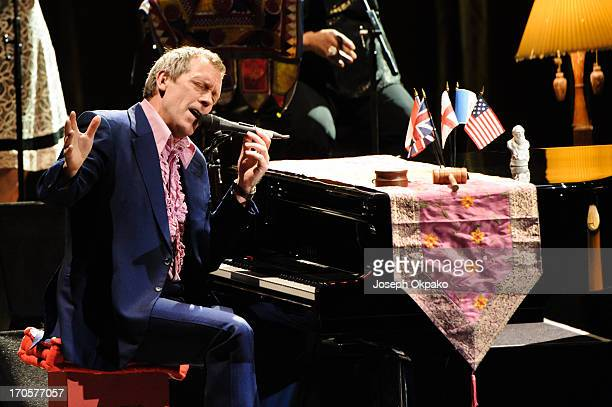 Hugh Laurie performs at Hammersmith Apollo on June 14 2013 in London England