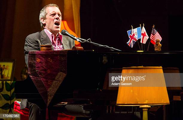 Hugh Laurie performs at the Colston Hall on June 13 2013 in Bristol England