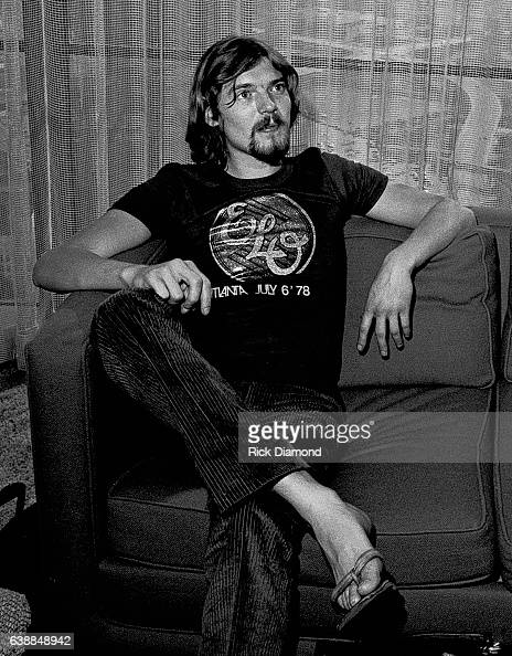 Hugh McDowell of ELO attends ELO press reception at the Peachtree Plaza in Atlanta Georgia July 06 1978