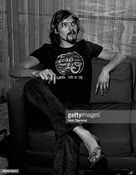 Hugh McDowell of ELO attends ELO press reception at the Peachtree Plaza in Atlanta Georgia July 06 1978