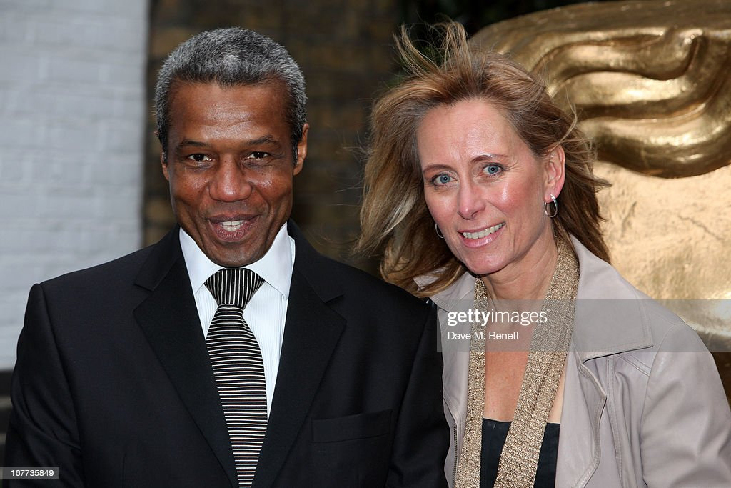 Hugh Quarshie and Guest attend the BAFTA Craft Awards at The Brewery on April 28, 2013 in London, England.