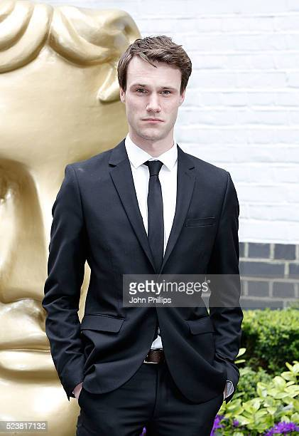 Hugh Skinner arrives for the British Academy Television Craft Awards at The Brewery on April 24 2016 in London England