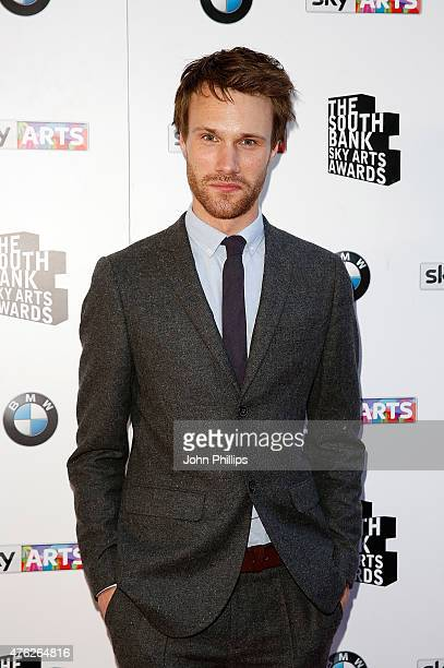 Hugh Skinner attends the South Bank Sky Arts Awards at The Savoy Hotel on June 7 2015 in London England
