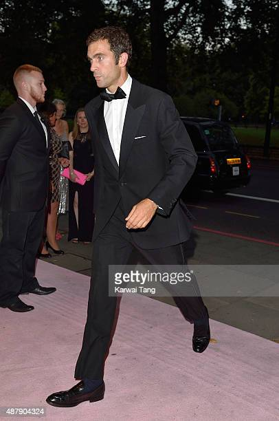 Hugh Van Cutsem attends the Boodles Boxing Ball at The Grosvenor House Hotel on September 12 2015 in London England