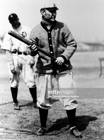 Hughie Jennings shortstop and manager of the Detroit Tigers circa 1910