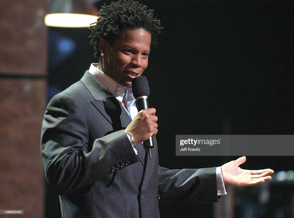 DL Hughley during COMEDY CENTRAL's Bar Mitzvah Bash Show at Hammerstein Ballroom in New York City New York United States