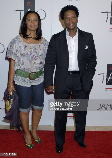 DL Hughley during TAO Las Vegas First Anniversary Weekend Janet Jackson Album Release Party Red Carpet Arrivals at The Venetian Resort Hotel Casino...