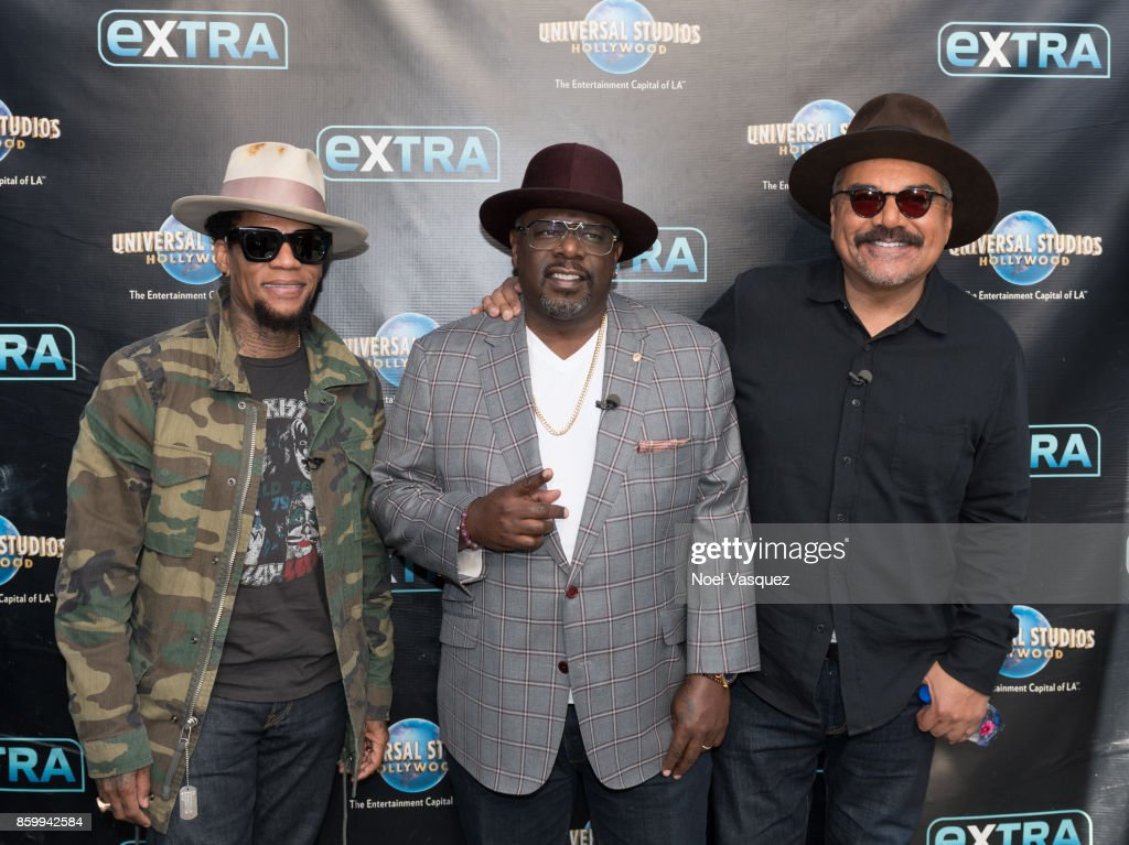 "Cast Of ""The Comedy Get Down"", Judge Mathis And Ron Livingston Visit ""Extra"""