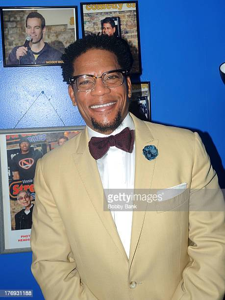 Hughley performs at The Stress Factory Comedy Club on August 18 2013 in New Brunswick New Jersey