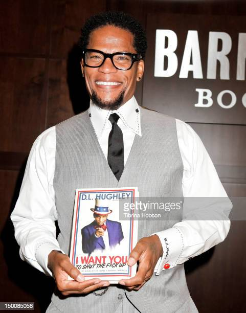 L Hughley signs copies of his new book 'I Want You To Shut The F*ck Up' at Barnes Noble bookstore at The Grove on August 9 2012 in Los Angeles...