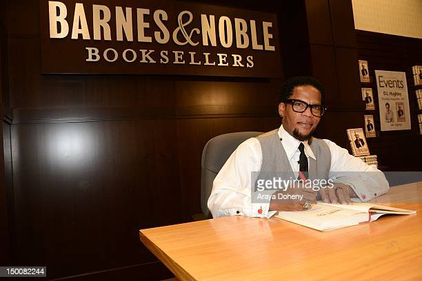 L Hughley signs his new book 'I Want You to Shut the F#ck Up' at Barnes Noble bookstore at The Grove on August 9 2012 in Los Angeles California