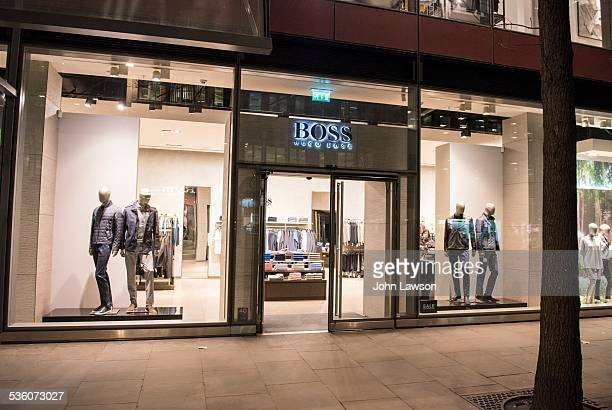Hugo Boss Store London England UK