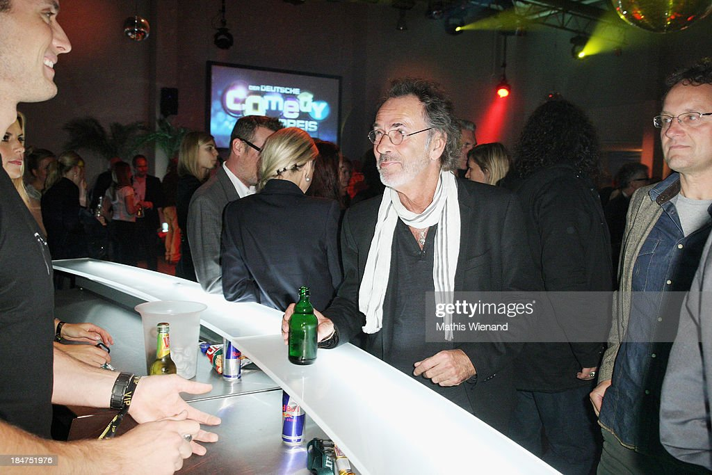 Hugo Egon Balder attends the 17th Annual of the German Comedy Awards at Coloneum on October 15, 2013 in Cologne, Germany.