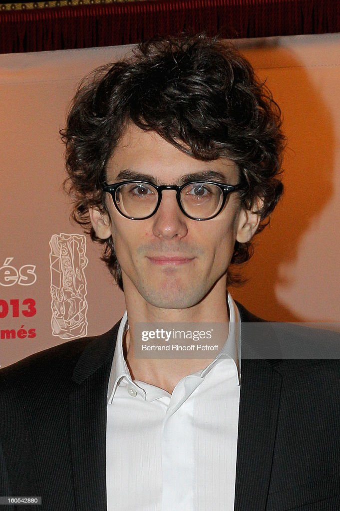 Hugo Gelin attends the Cesar 2013 nominne lunch at Le Fouquet's on February 2, 2013 in Paris, France.
