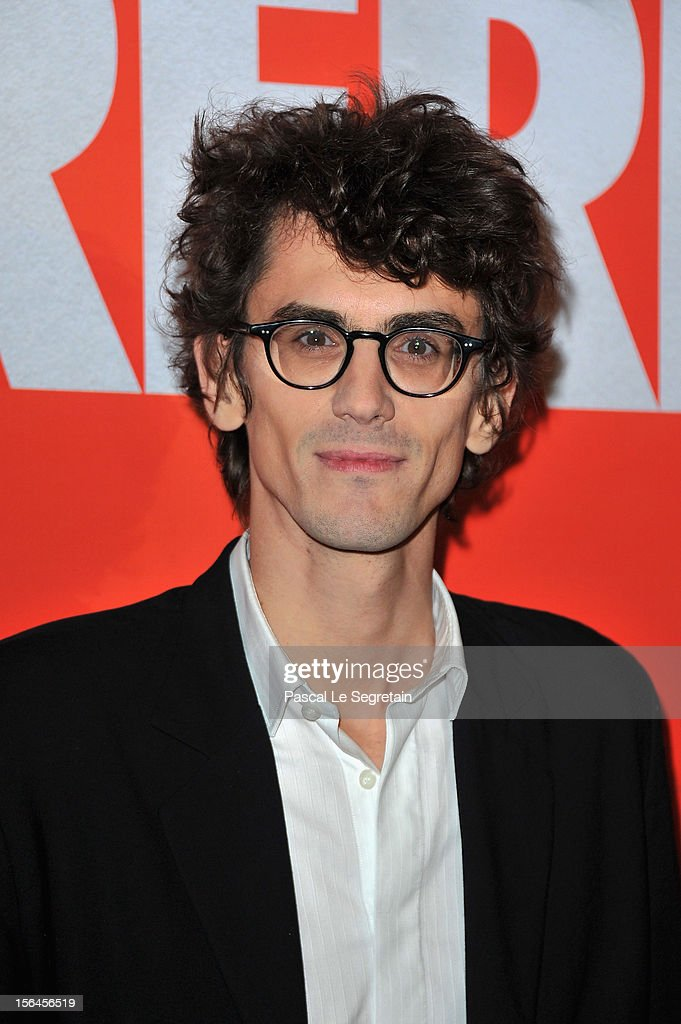 Hugo Gélin attends 'Comme Des Freres' Premiere at Cinema Gaumont Opera on November 15, 2012 in Paris, France.