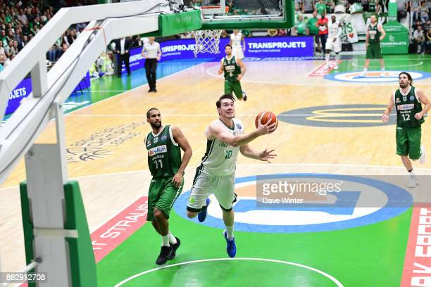Hugo Invernizzi of Nanterre during the Basketball Champions League match between Nanterre 92 and Sidigas Avellino on October 18 2017 in Nanterre...