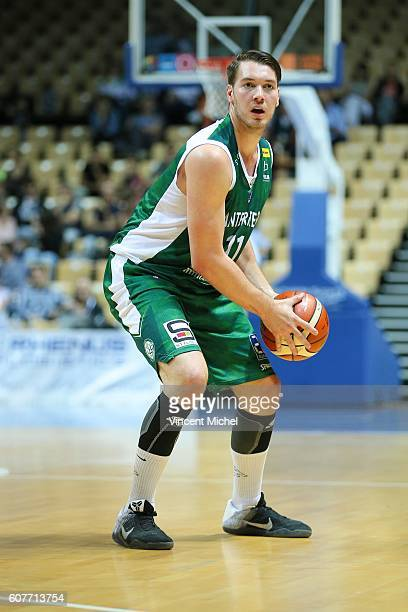 Hugo Invernizzi of Nanterre during the match for the 3rd and 4th place between Nanterre and Khimki Moscow at Tournament ProStars at Salle Arena Loire...