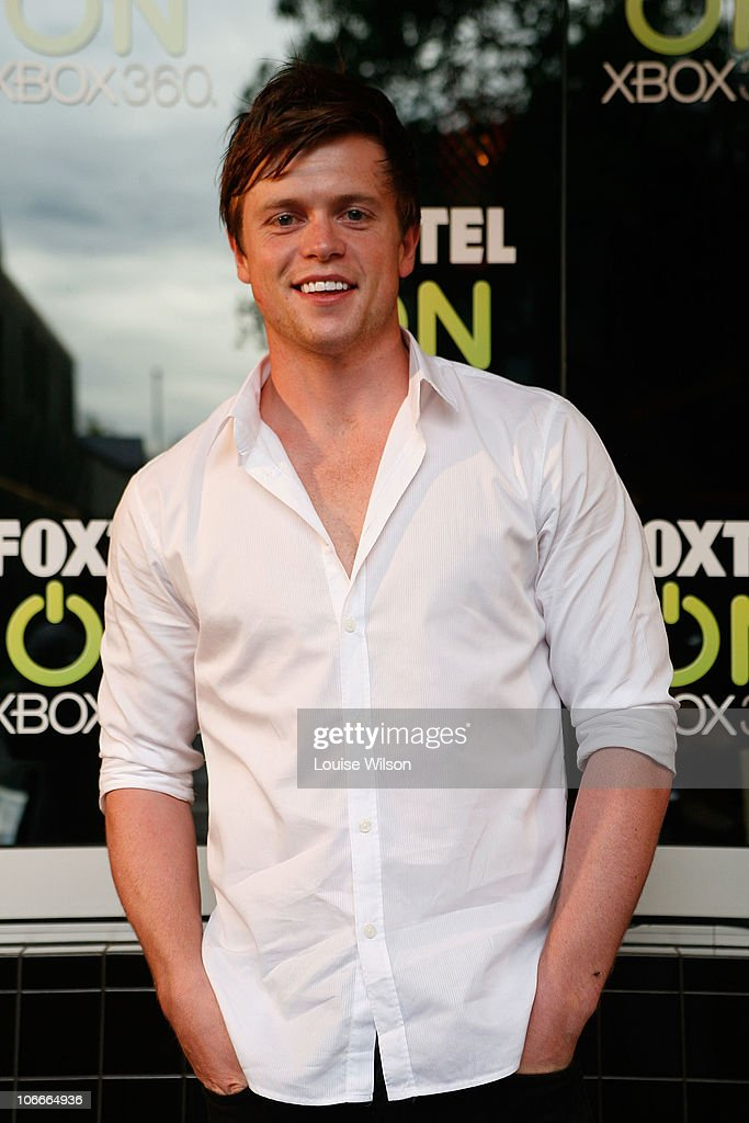 Celebrities attend foxtel on xbox 360 launch getty images for A t the salon johnstone