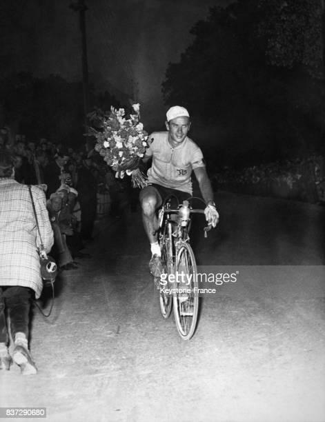 Hugo Koblet vainqueur du Tour de Suisse 1955 en Suisse en 1955