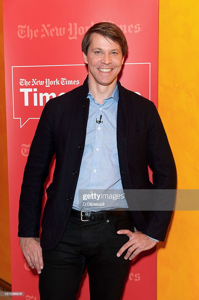 Hugo Lindgren attends TimesTalks presents An Evening With Matt Damon & Gus Van Sant at The Times Center on November 27, 2012 in New York City.