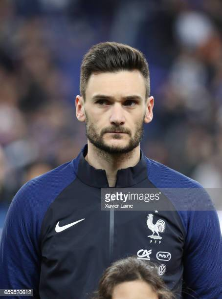 Hugo LLoris of France during the Friendly game between France and Spain at Stade de France on march 28 2017 in Paris France