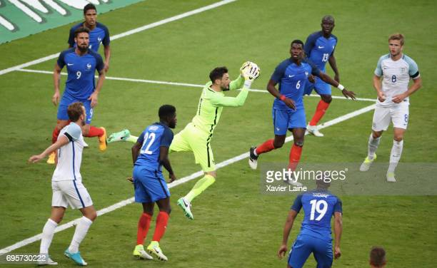 Hugo LLoris of France during the International Friendly match between France and England at Stade de France on June 13 2017 in Paris France