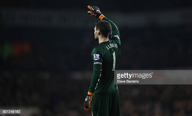 Hugo Lloris of Tottenham Hotspur during the Barclays Premier League match between Tottenham Hotspur and Newcastle United at White Hart Lane on...