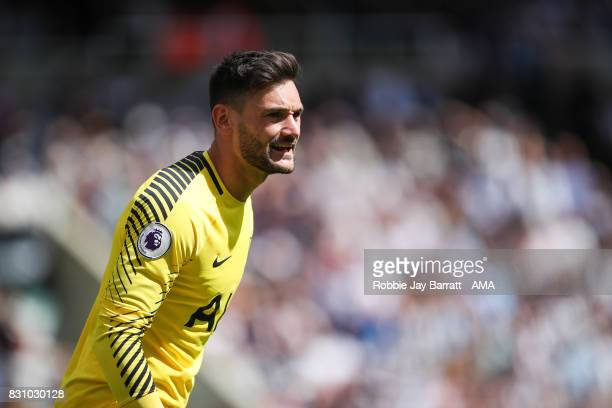 Hugo Lloris of Tottenham Hotspur during the Premier League match between Newcastle United and Tottenham Hotspur at St James Park on August 13 2017 in...