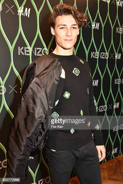 Hugo Marchand attends KENZO x HM Paris Launch Party at Hotel De Brossier on November on November 2 2016 in Paris France