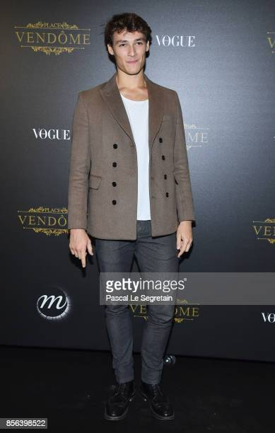 Hugo Marchand attends the Irving Penn Exhibition Private Viewing Hosted by Vogue as part of the Paris Fashion Week Womenswear Spring/Summer 2018 on...