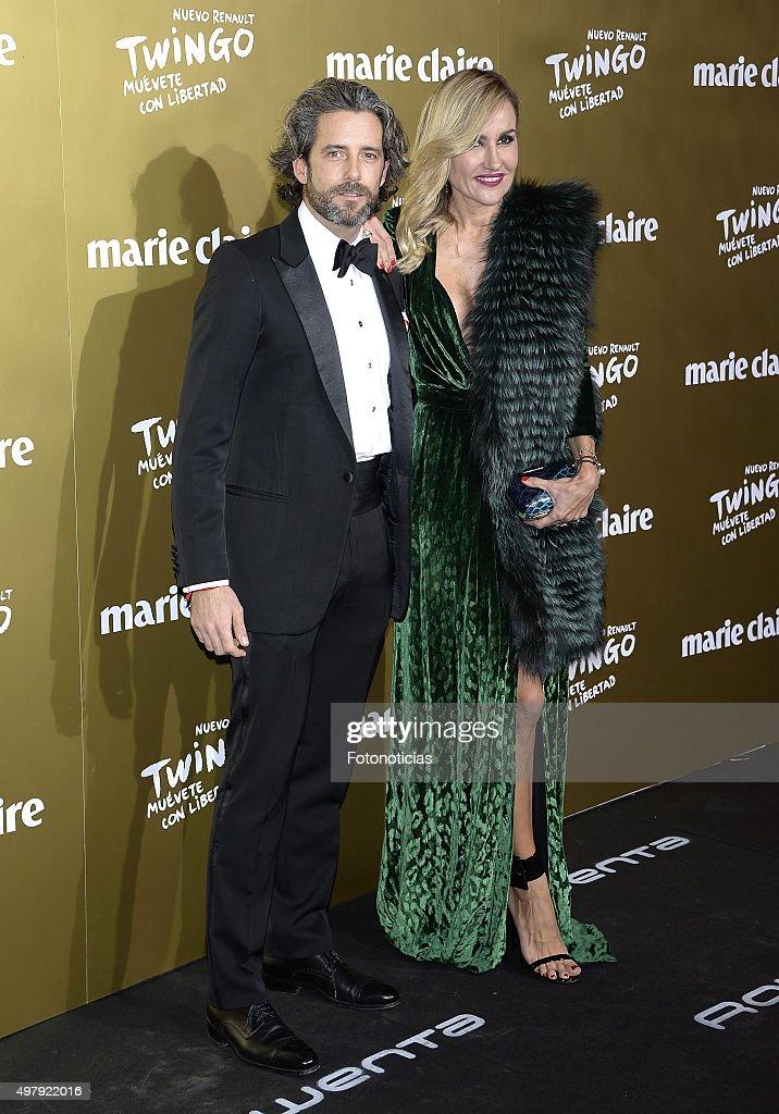 Hugo Portuondo and Clara Courel attend the 2015 Marie Claire Prix de la Mode at Callao Cinema on November 19 2015 in Madrid Spain