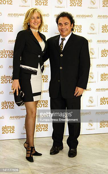 Hugo Sanchez attends 'Alma Awards' by Real Madrid Foundation at Palacio Municipal de Congresos on March 9 2012 in Madrid Spain