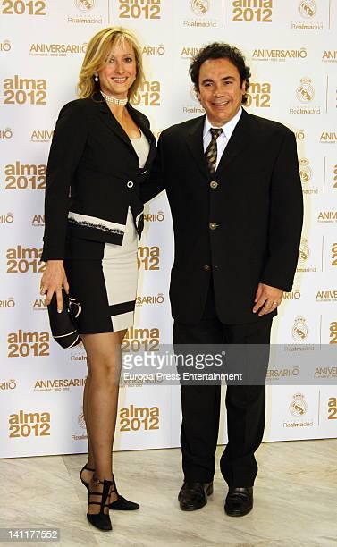 Hugo Sanchez attends 'Alma Awards' by Real Madrid Foundation at Palacio Municipal de Congresos on March 9 2012 in Madrid Spain