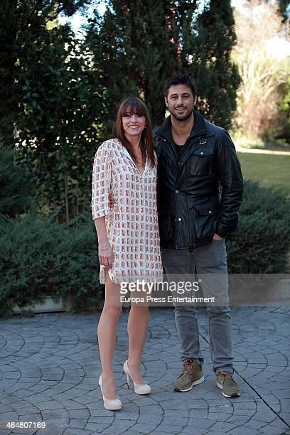 Hugo Silva and Ingrid Rubio attend the presentation of the Tv serie 'El Corazon del Oceano' on January 23 2014 in Madrid Spain