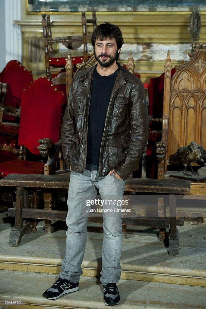Hugo Silva attends 'Las Brujas de Zugarramurdi' on set filming at Palacio del Infante Don Luis on November 23, 2012 in Madrid, Spain.
