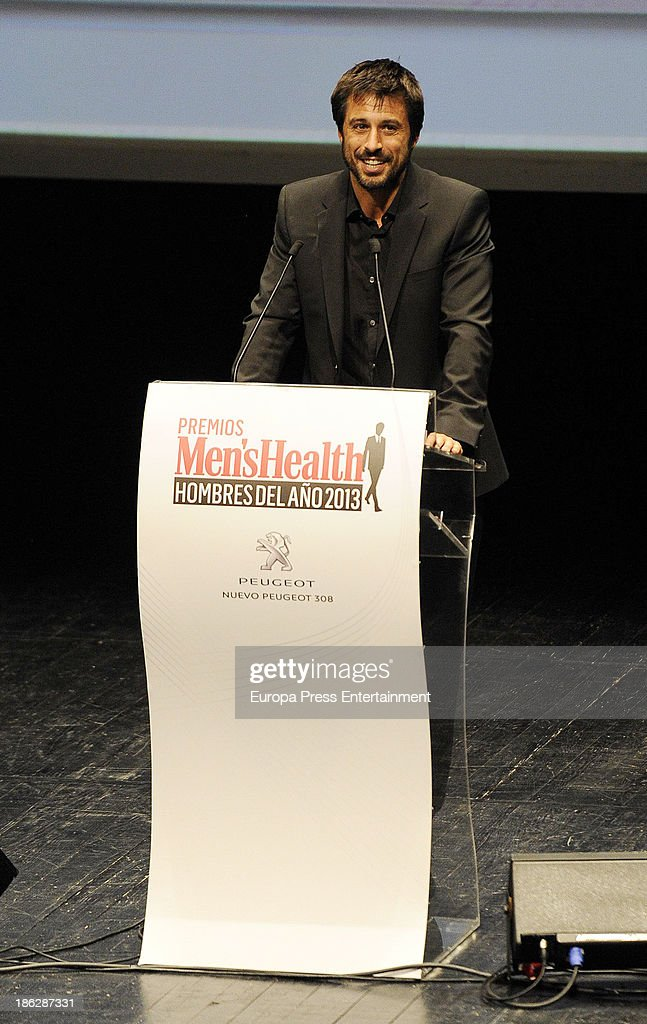<a gi-track='captionPersonalityLinkClicked' href=/galleries/search?phrase=Hugo+Silva&family=editorial&specificpeople=605764 ng-click='$event.stopPropagation()'>Hugo Silva</a> attends Men's Health Awards 2013 at Teatros del Canal on October 29, 2013 in Madrid, Spain.