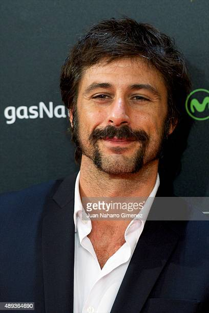 Hugo Silva attends 'Mi Gran Noche' premiere during 63rd San Sebastian Film Festival on September 20 2015 in San Sebastian Spain
