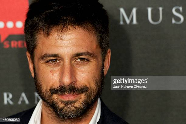 Hugo Silva attends the 'Musaranas' premiere at the Capitol cinema on December 17 2014 in Madrid Spain