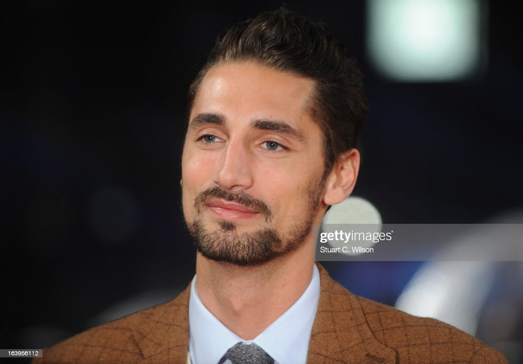 Hugo Taylor attends the UK Premiere of G.I. Joe: Retaliation at Empire Leicester Square on March 18, 2013 in London, England.