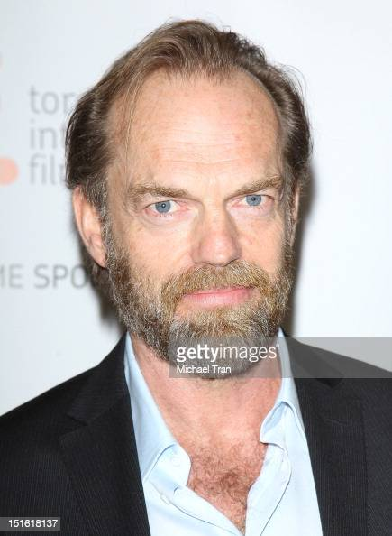 Hugo Weaving arrives at 'Cloud Atlas' premiere during the 2012 Toronto International Film Festival held at Princess of Wales Theatre on September 8...