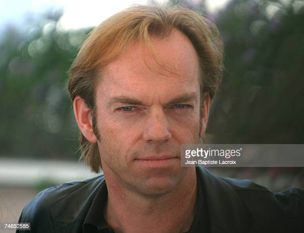 Hugo Weaving at the Palais des Festivals in Cannes France