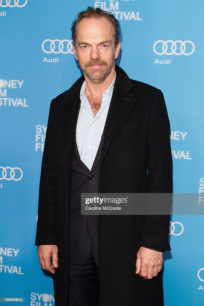 Hugo Weaving attends the world premiere of 'Mystery Road' on opening night of the Sydney Film Festival at the State Theatre on June 5, 2013 in Sydney, Australia.